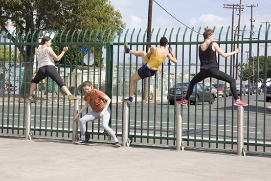 Experimental Dance by the Los Angeles River