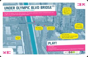 Downtown / King / Under Olympic Blvd Bridge (E)