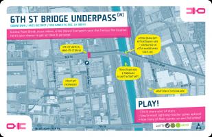 Downtown / Queen / 6th St Bridge Underpass (W)