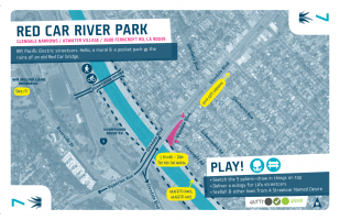 Glendale Narrows / 7 / Red Car River Park