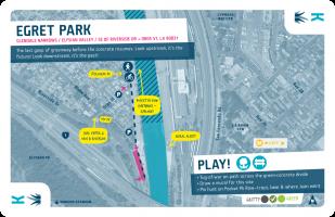 Glendale Narrows / King / Egret Park