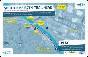 South / Ace / South Bike Path Trailhead