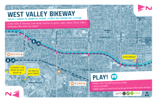 Valley / 2 / West Valley Bikeway
