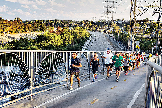 Thursday Fun Run through the Glendale Narrows